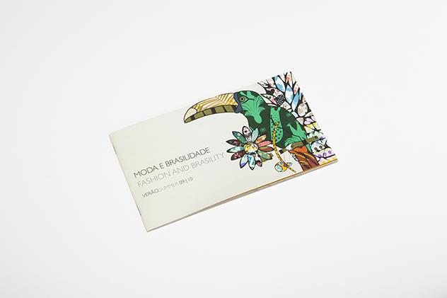 Evento Moda e Brasilidade – Catálogo