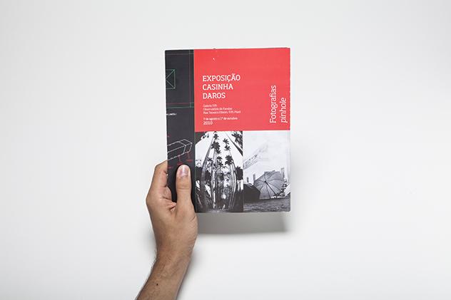 Folder para a exposição Casinha Daros