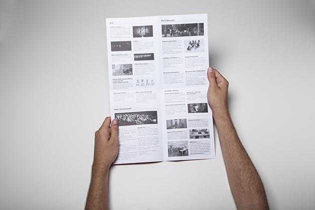 Folder institucional | programação
